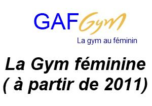 Gym Artistique Féminine  (GAF)